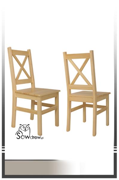Krzesła Sosnowe Sowdrew Producent Mebli Z Drewna